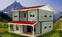 135m² İki Katlı Prefabrik Ev